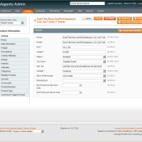 Magento Back-End Screenshot