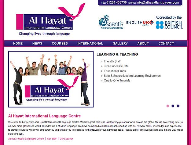 Al Hayat International Language Centre - Blackburn